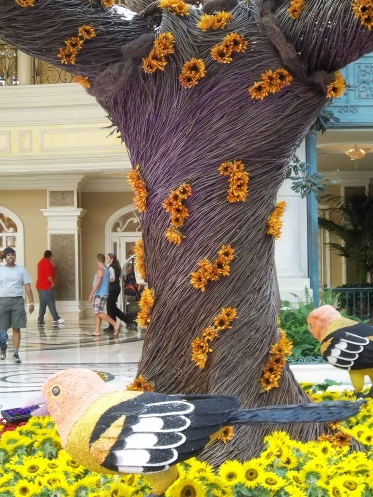 This was taken at the Wynn Hotel in Las Vegas and is one of the many whimsical planters I found.