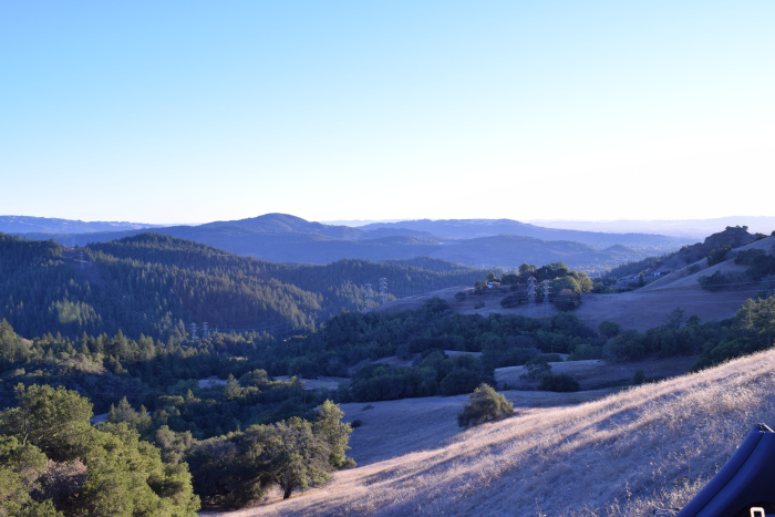 View from Hood Mountain Sonoma County