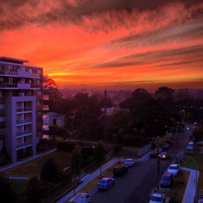 Sydney skies