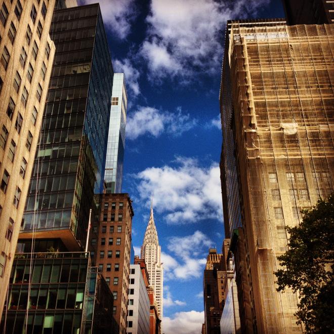 New York City skies